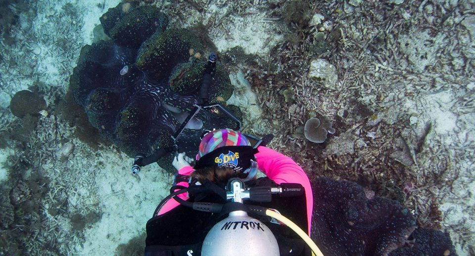 Di & Giant Clams