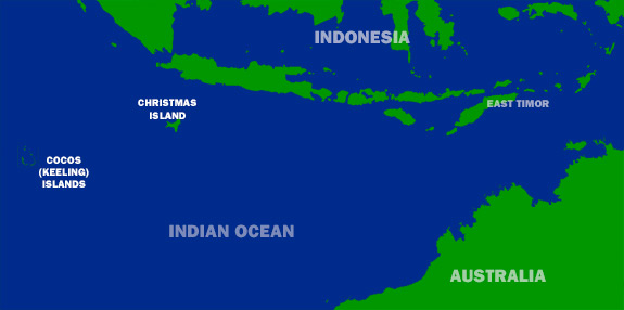Where is Christmas Island